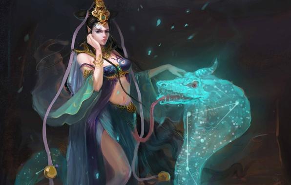 змееносец женщина
